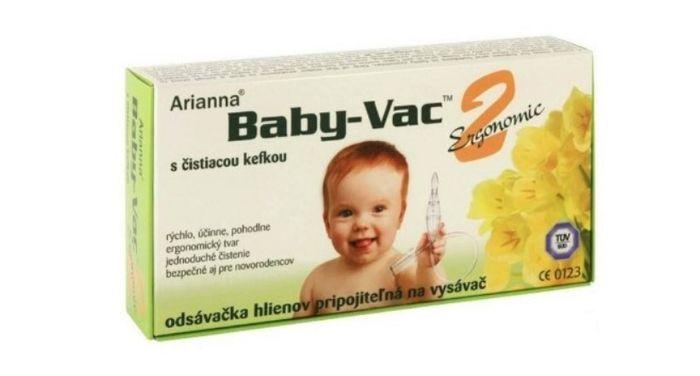 Odsávačka hlienov Arianna Baby Vac 2