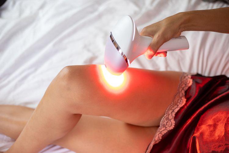 Nastavenie intenzity svetla na IPL epilátore