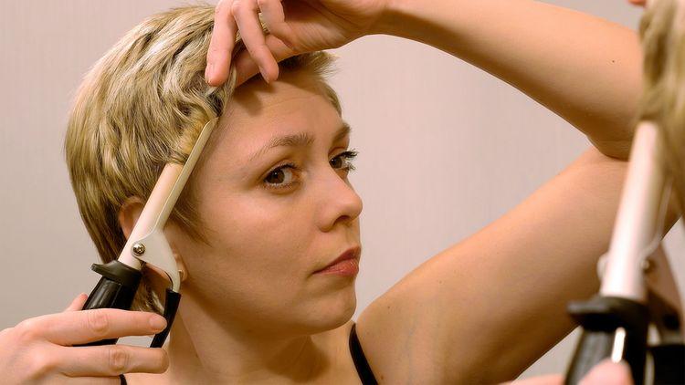 Ako vybrať kulmu na krátke vlasy