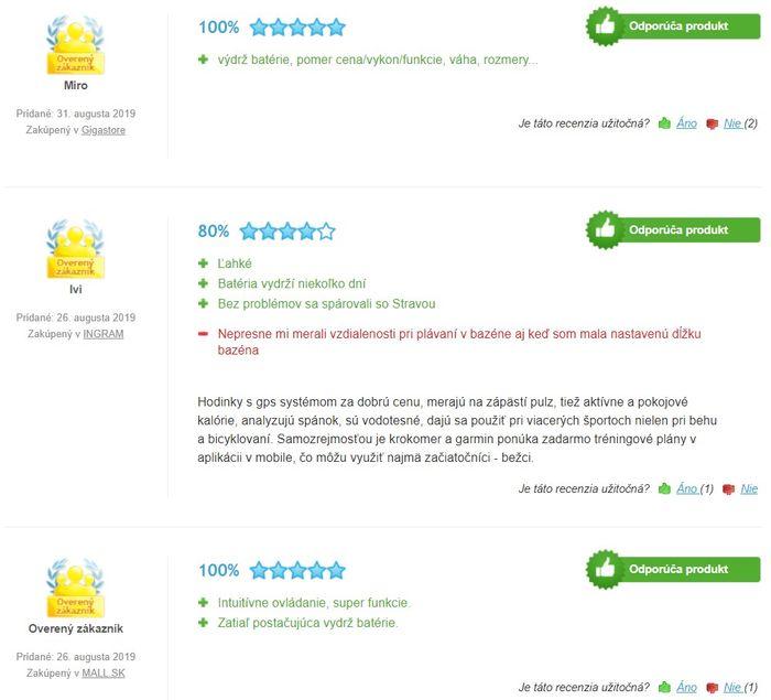 Recenzie a skúsenosti s inteligentnými hodinkami Garmin vívoActive 3