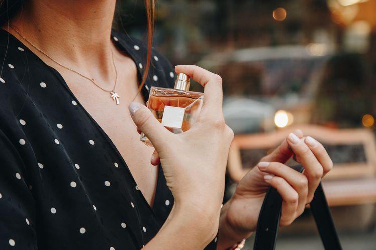 Aplikácia parfumu