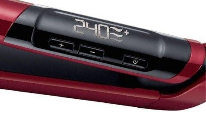 Displej žehličky na vlasy Remington S9600