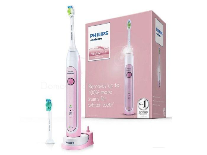 Sonická zubná kefka Philips Sonicare HealthyWhite Pink HX6762/43
