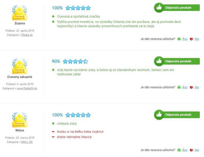 Recenzie a skúsenosti so zubnou kefkou Philips Sonicare HealthyWhite Pink HX6762/43