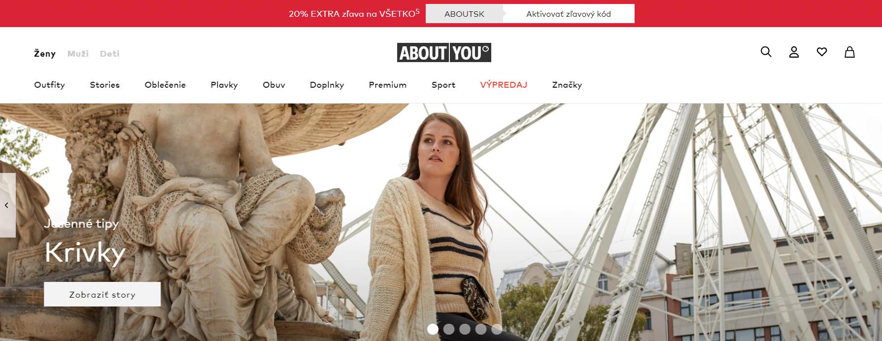 Aboutyou.sk internetový obchod