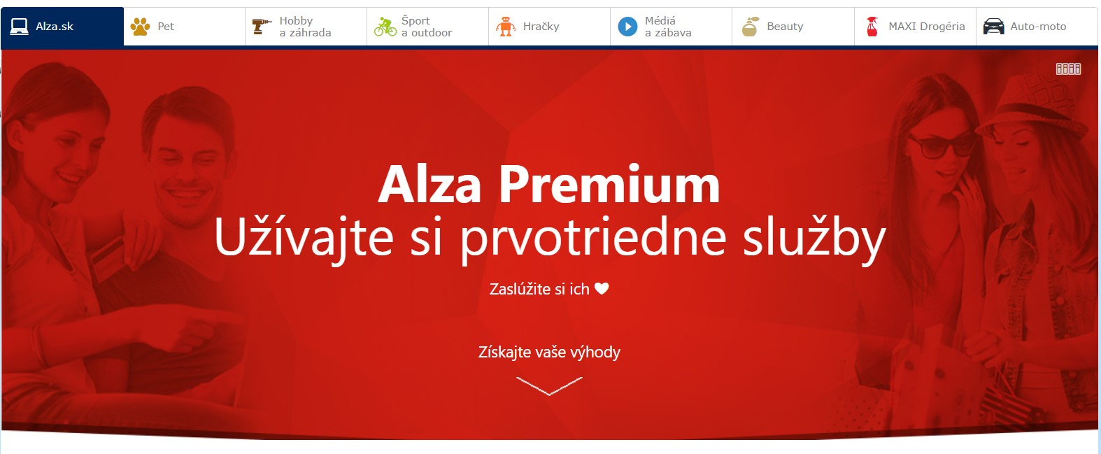 Alza premium Alza.sk