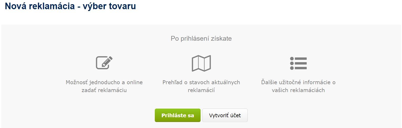 Alza.sk reklamácia online