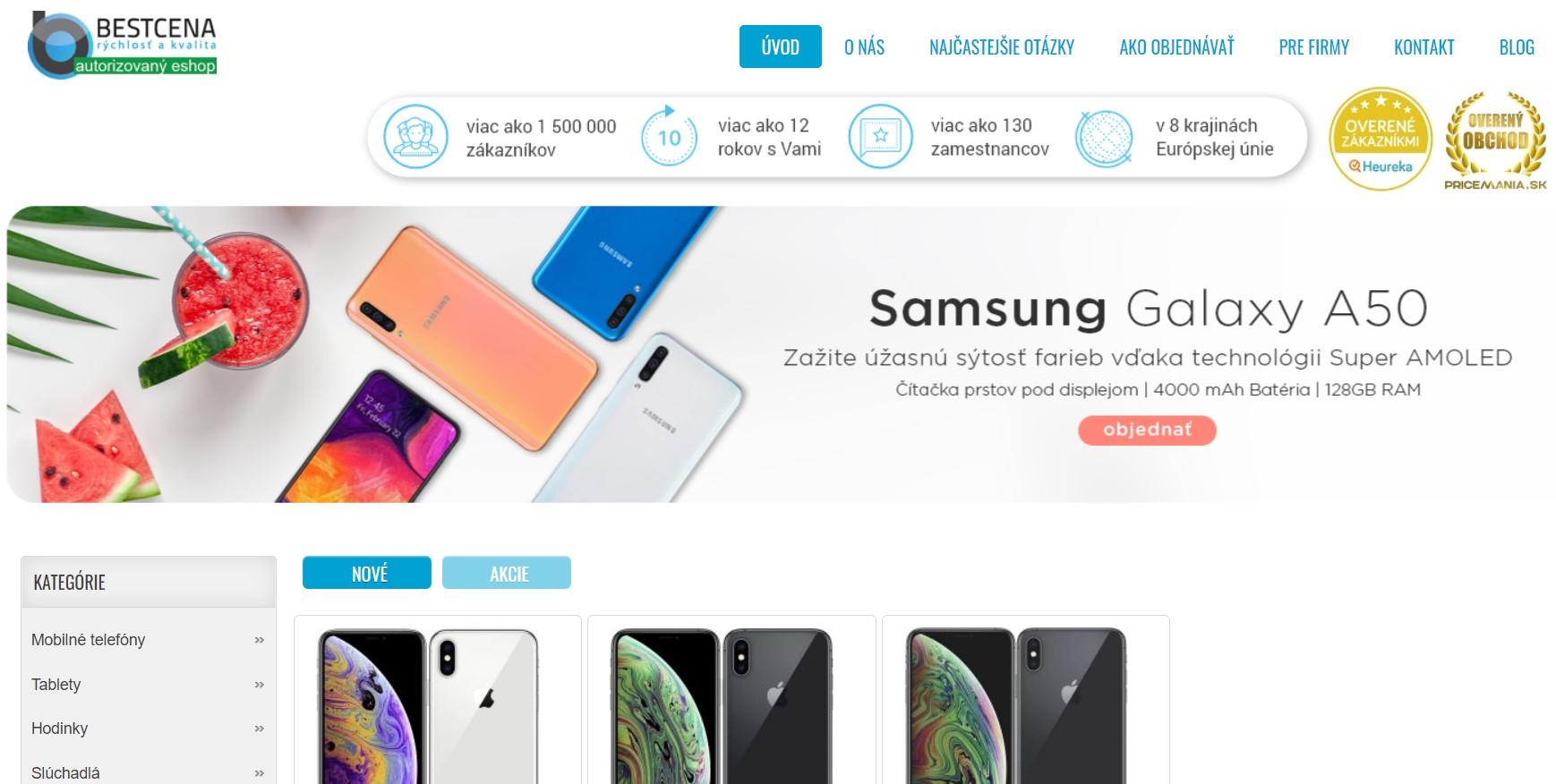 Internetový obchod Bestcena.sk