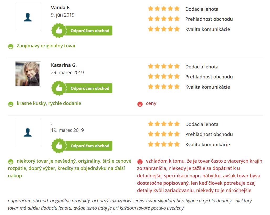 Recenzie a skúsenosti s e-shopom bonami.sk