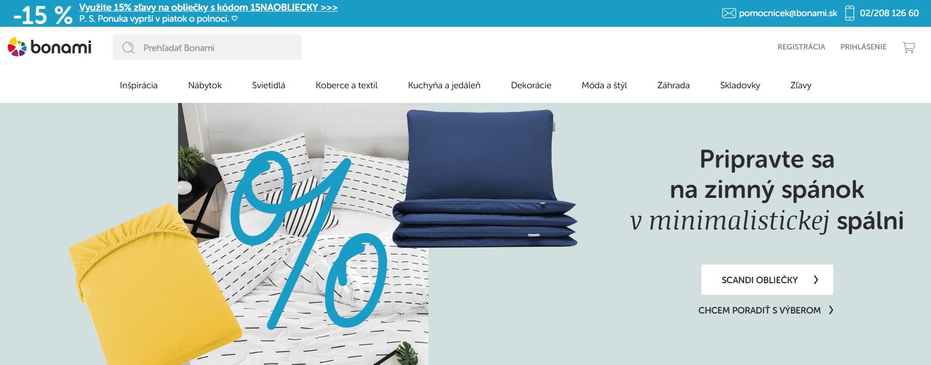 Internetový obchod Bonami.sk