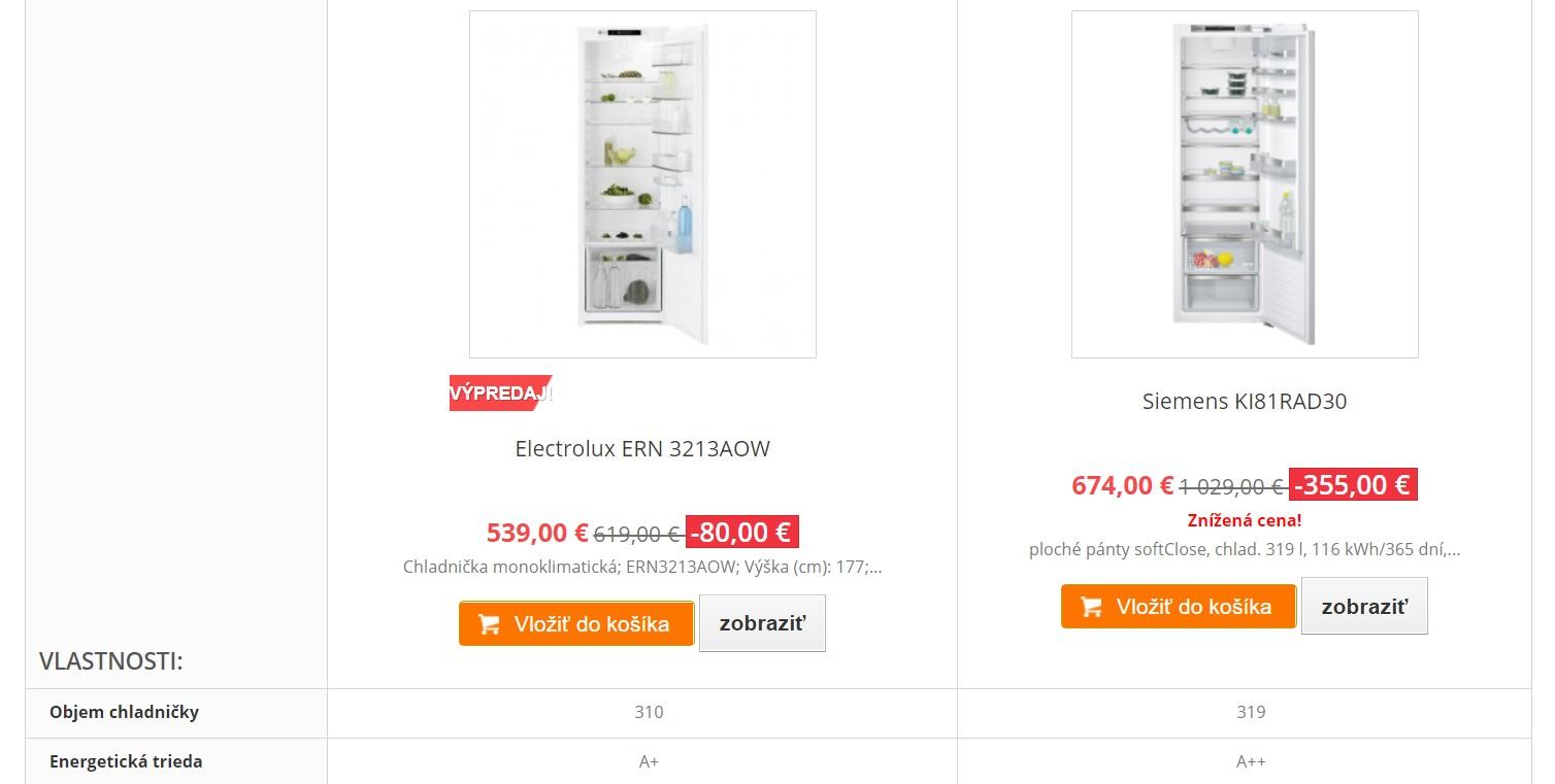 e-spotrebice.sk porovnávač produktov