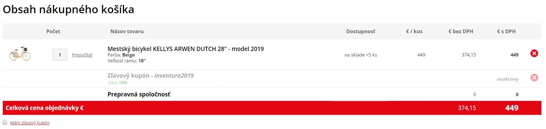 Insportline.sk nákup