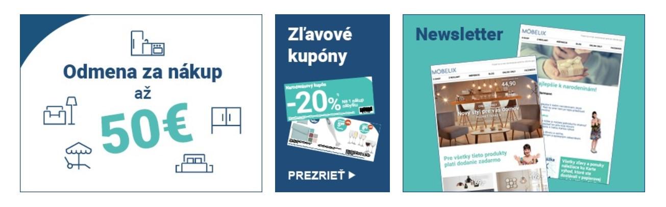 Karta výhod moebelix.sk