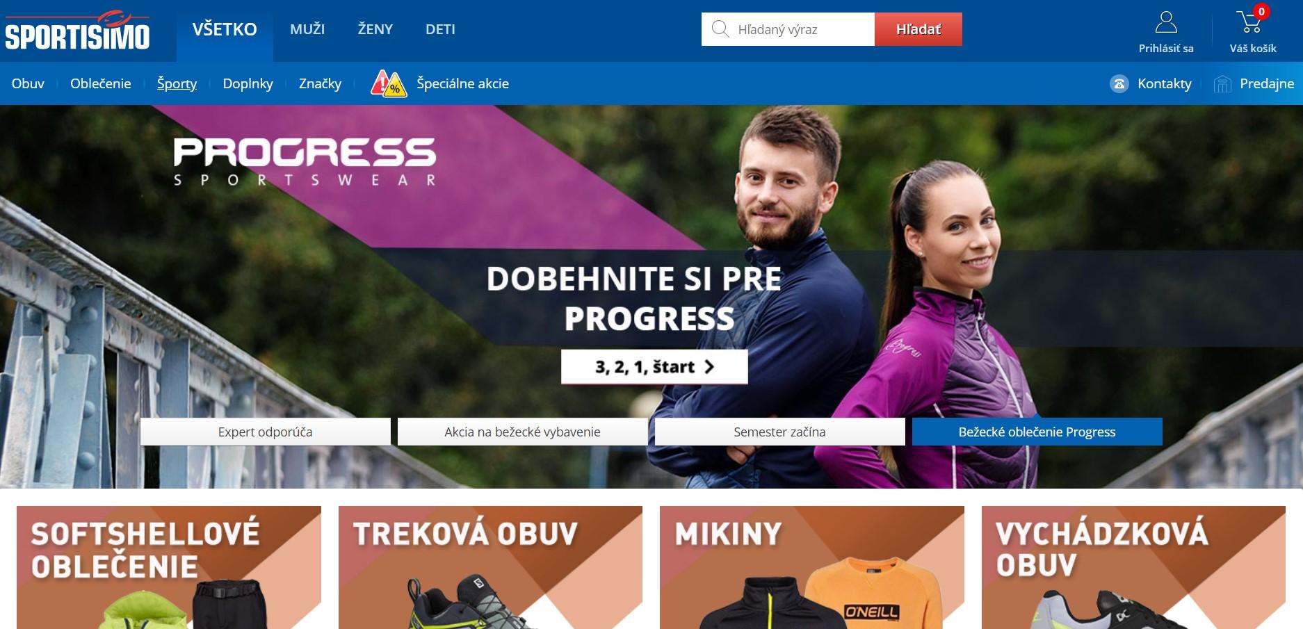 E-shop sportisimo.sk