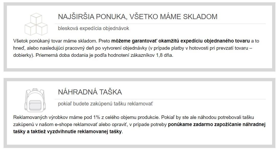 Výhody nákupu v e-shope Topgal.sk