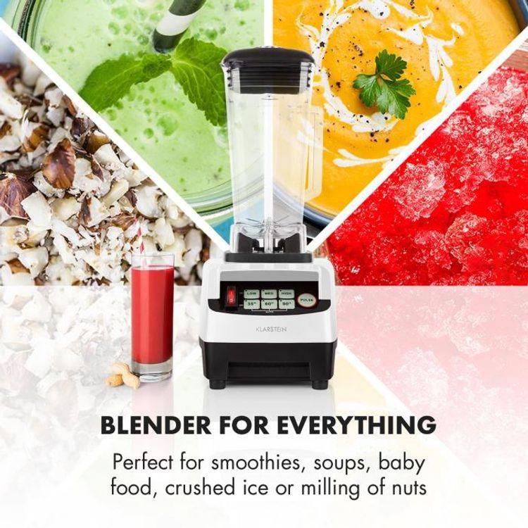 Stolný mixér Klarstein Herakles 5G si poradí aj s tvrdými potravinami