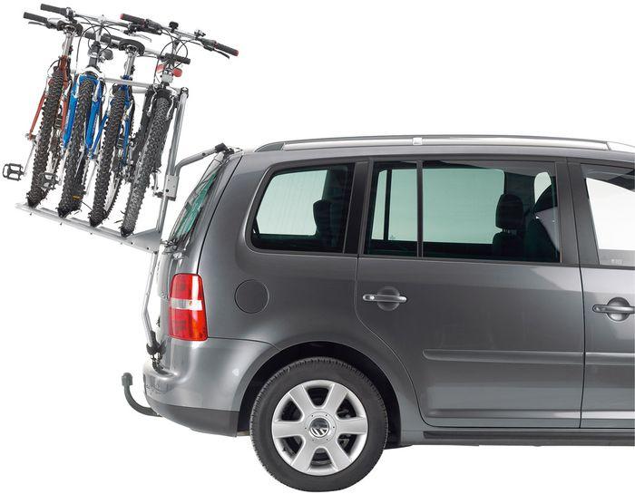 S adaptérmi môžete s nosičom Thule BackPac 973 prevážať až 4 bicykle