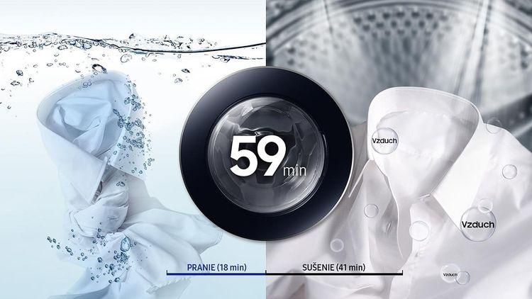 Samsung WD80M4A43JW program krátkeho prania