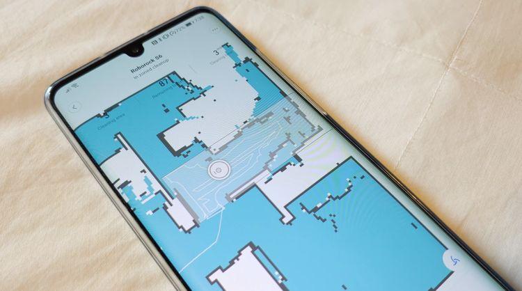 Xiaomi Roborock S6 ovládanie cez aplikáciu