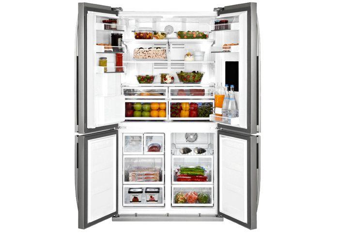 Beko GNE 134630 X otvorená chladnička