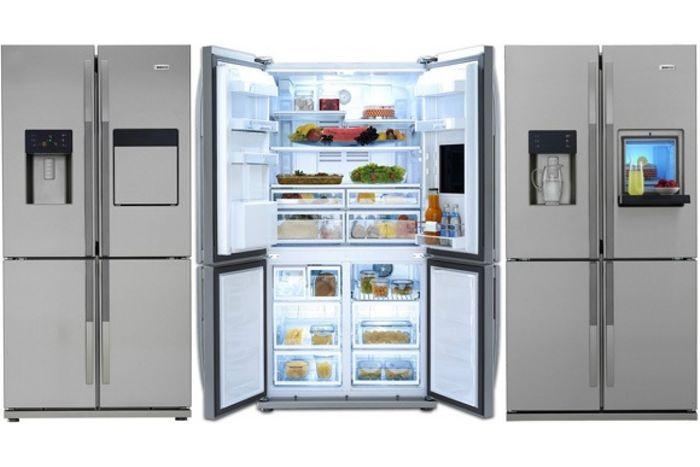 Americká chladnička Beko GNE 134630 X