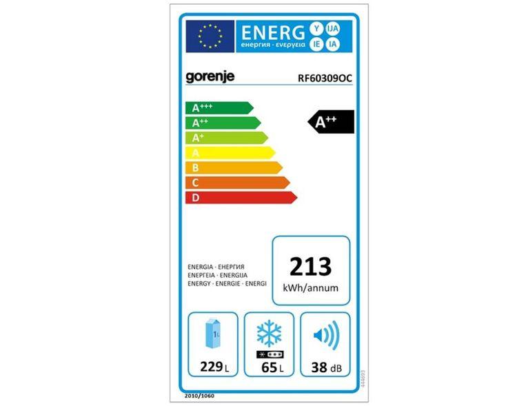 Gorenje RF 60309OC - energetický štítok