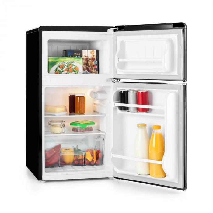 Klarstein Monroe Black - vnútro chladničky