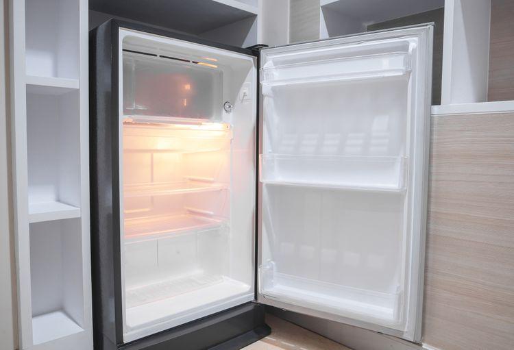 Otvorená vstavaná chladnička