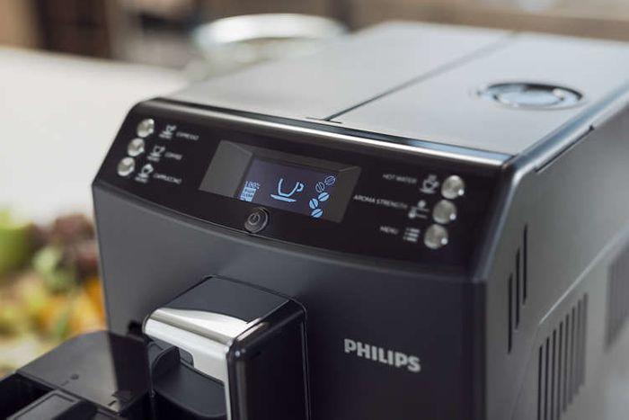 Philips Saeco EP 3550/00 ovládanie