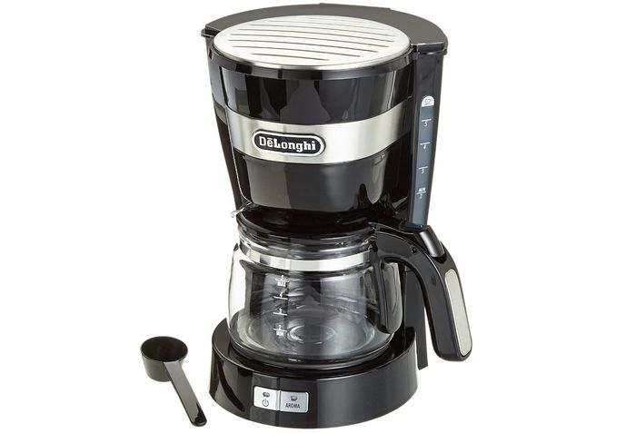 Prekvapkávací kávovar používa