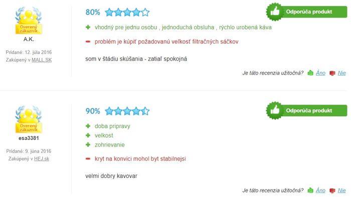Recenzie a skúsenosti s kávovarom Philips Saeco HD 7435/20