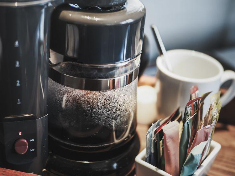 Príprava kávy v prekvapkávači