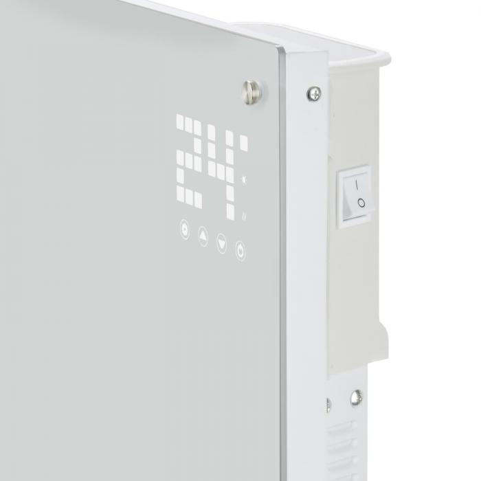 Dotykové ovládanie elektrického konvektora Klarstein Bornholm