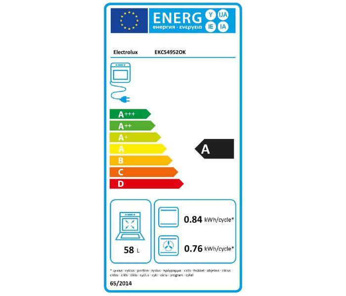Electrolux EKC54952OK PlusSteam energetický štítok