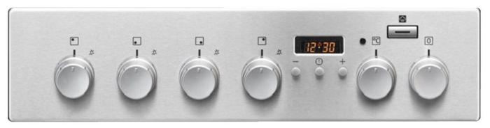 Electrolux EKK54950OX PlusSteam ovládací panel