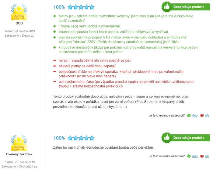 Recenzie a skúsenosti s kombinovaným sporákom Electrolux EKK54950OX PlusSteam
