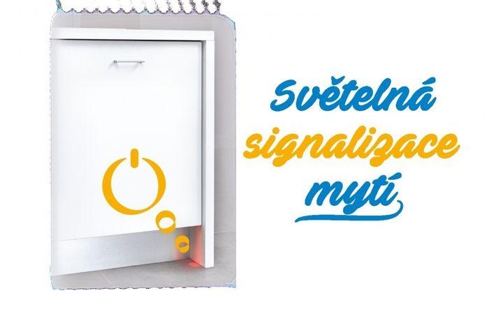 Beko DIN 28430 svetelná signalizácia umývania