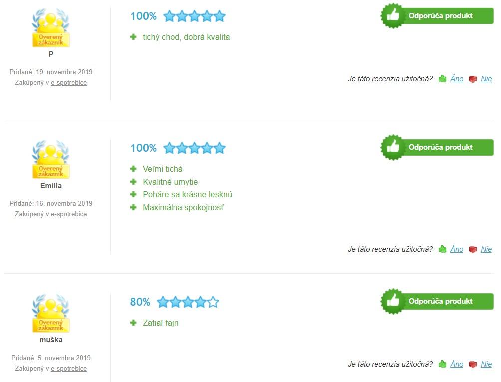 Recenzie a skúsenosti s umývačkou riadu Bosch SMV46KX01E