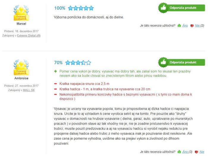 Recenzie a skúsenosti s vysávačom Fieldmann FDU 201001-E