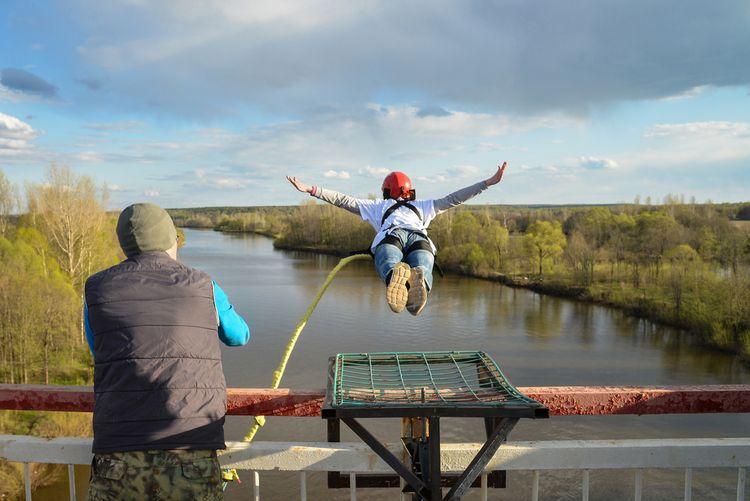 Bungee jumping - darček pre nadšencov adrenalínu