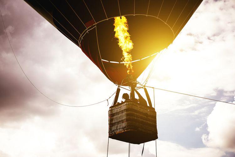Let balónom - zážitkový darček