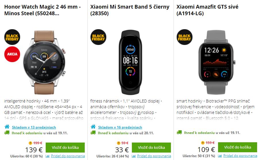 Black Friday Datart – zlacnené smart hodinky