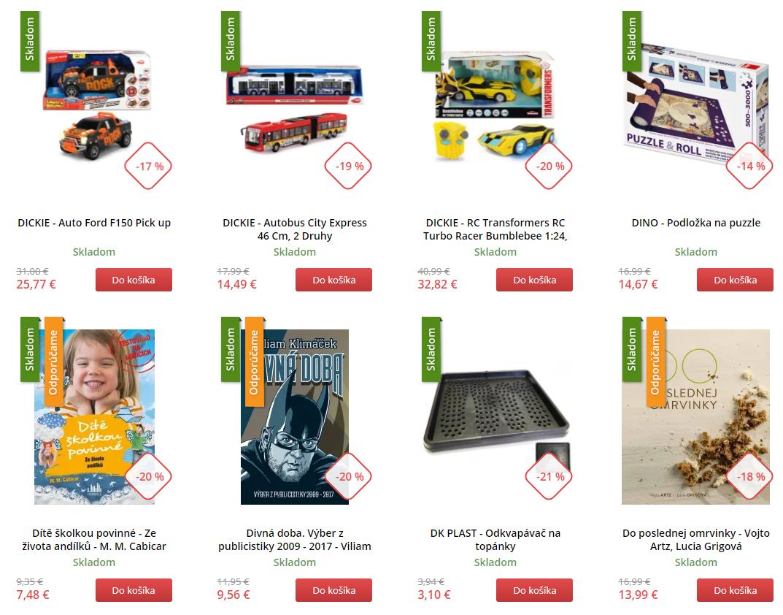 Black Friday Market24.sk – zlacnené hračky a knihy