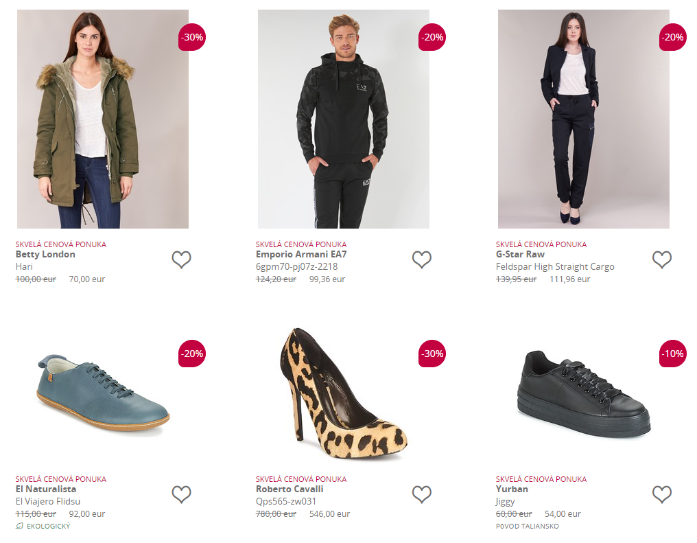 Spartoo Black Friday oblečenie, obuv, módne doplnky