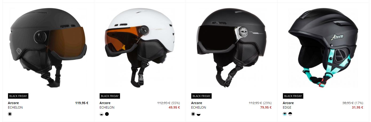 Black Friday Sportisimo – zlacnené lyžiarske prilby