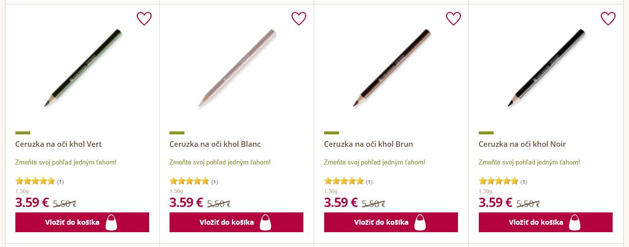 Black Friday Yves Rocher – zlacnené ceruzky na oči
