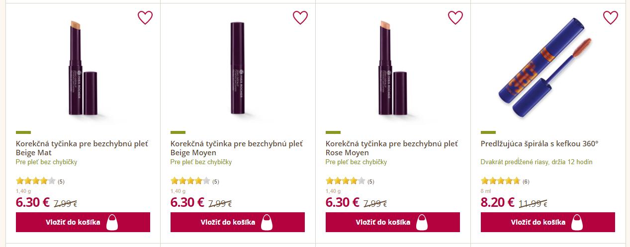 Black Friday Yves Rocher – zlacnené korekčné tyčinky