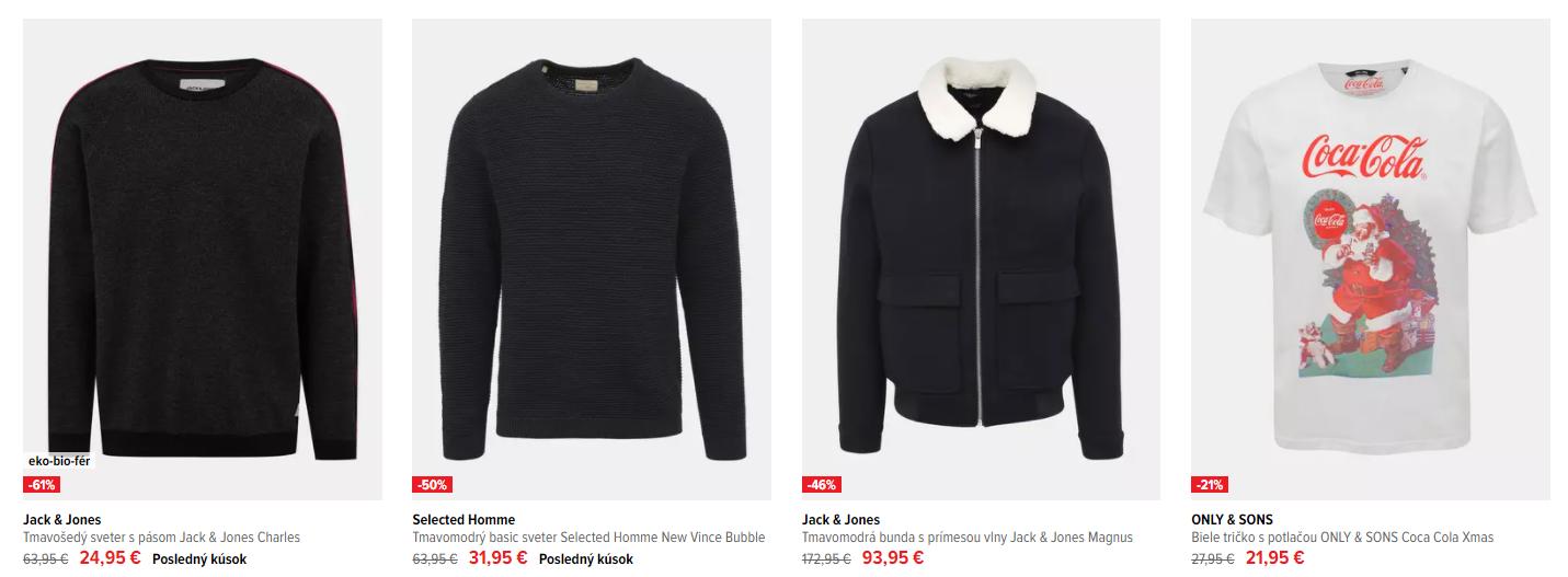Black Friday Zoot – zlacnené pánske svetre