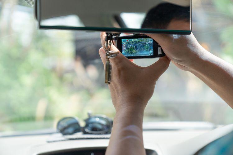 Montáž prednej kamery do auta