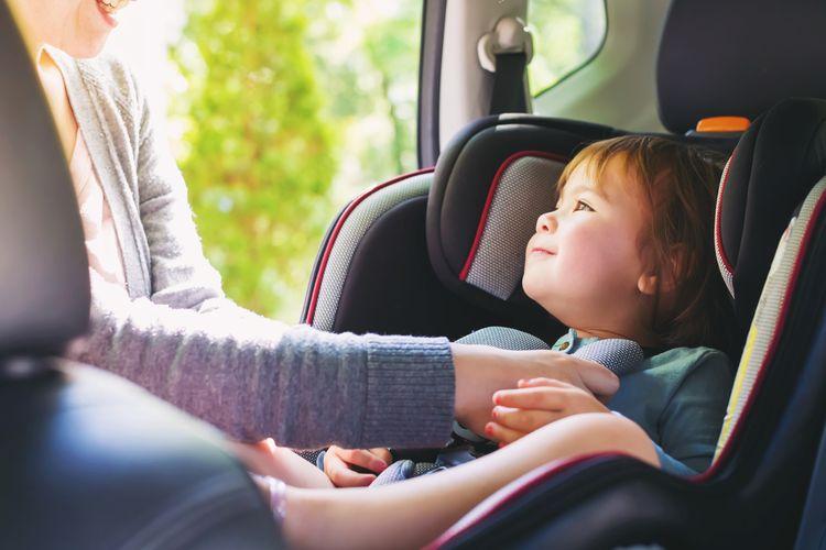 Autosedačka v smere jazdy